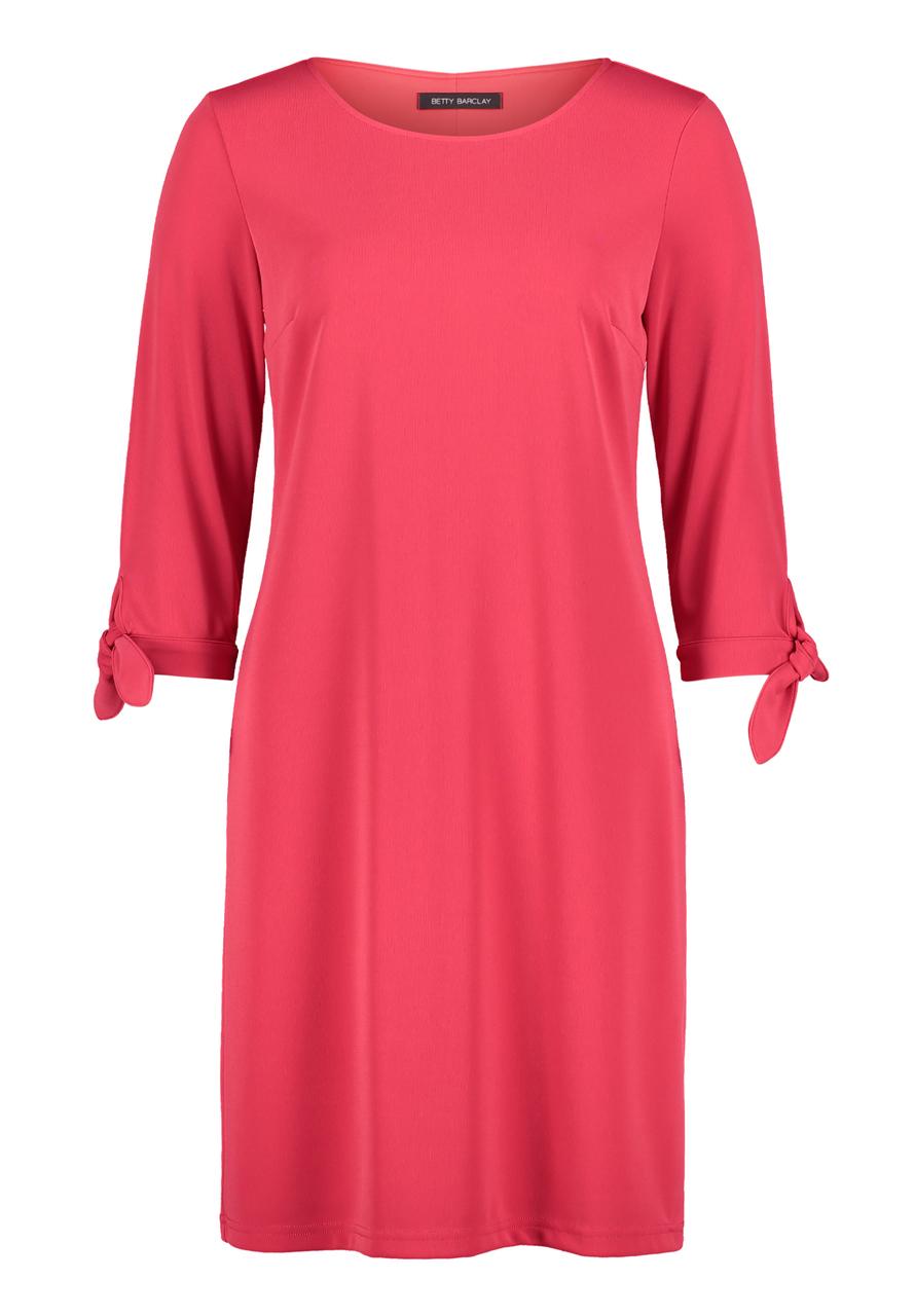 Artikel klicken und genauer betrachten! - Betty Barclay: Jerseykleid, Das könnte Ihr neues Lieblingsteil werden! Das elegante Jerseykleid mit Bindeband an den Ärmeln und lockerem Schnitt ist perfekt für jeden Anlass. | im Online Shop kaufen